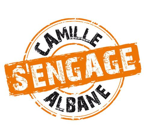 Camille Albane S'engage